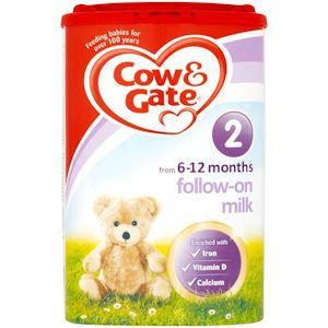 Cow & Gate Follow On Milk 900g
