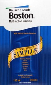 Boston Simplus Multi Action Solution For Rgp Lenses 120ml