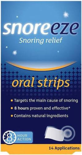 Snoreeze Oral Strips Pack of 14
