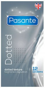 Pasante Dotted Condoms Pack of 12