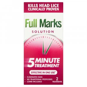 Full Marks Solution With Comb 100ml