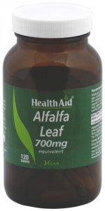 HealthAid Alfalfa 700mg Tablets Pack of 120