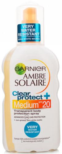 Garnier Ambre Solaire Clear Protect Sun Spray SPF20 200ml