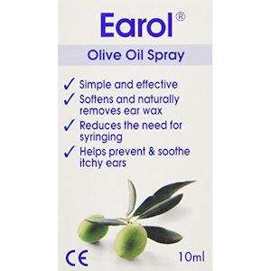 Earol Ear Wax Remover Olive Oil Spray 10ml