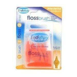 Endekay Interdental Flossbrush Orange 0.45mm