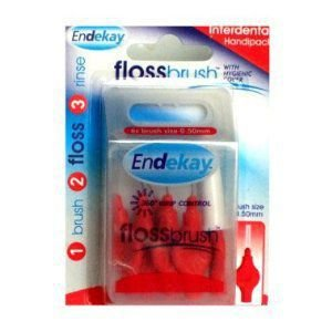 Endekay Interdental Flossbrush Red 0.50mm