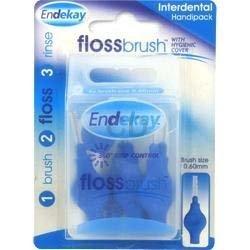 Endekay Interdental Flossbrush Blue