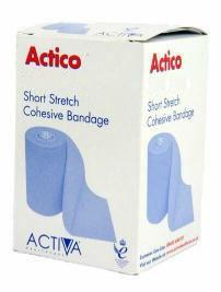 Actico Cohesive Short Stretch Bandage 12cm x 6m