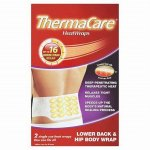 Thermacare Heat Wrap Back, Optimized Fit-stretched Pack of 2