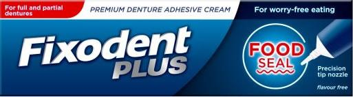 Fixodent Plus Food Seal 40g