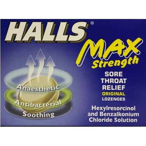 Halls Max Strength Lozenges Pack of 20