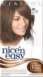 Clairol Nice N Easy Natural Lightest Brown 6N (formerly 115)