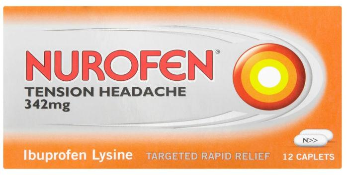 Nurofen Tension Headache Tablets Pack of 12