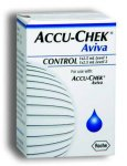 Accu Chek Aviva Glucose Control Solutions 2.5ml Pack of 2