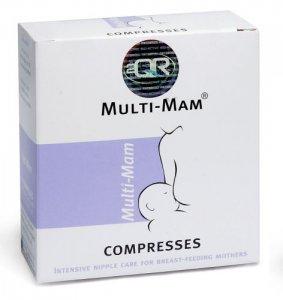 Multi Mam Instant Nipple Compresses Pack of 12