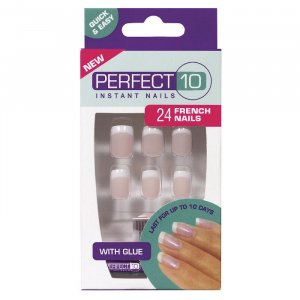 Perfect 10 French Nails American Pink