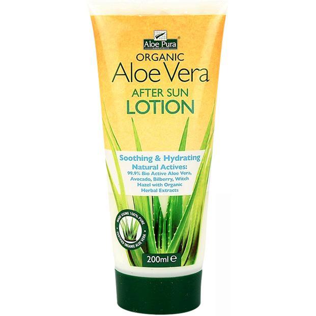 Aloe Pura Organic Aloe Vera After Sun Lotion 200ml