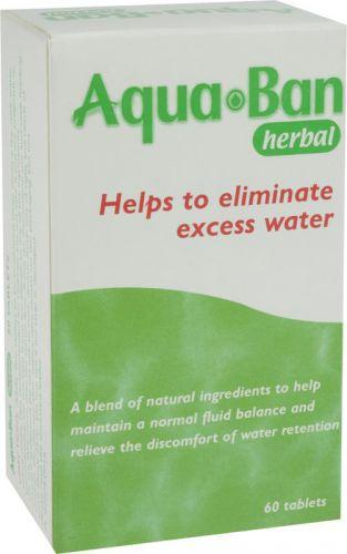 Aquaban Herbal Diuretic Tablets Pack of 60