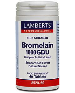Lamberts Bromelain Capsules 500mg Pack of 60