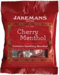 Jakemans Cough Sweets Cherry Menthol 100g
