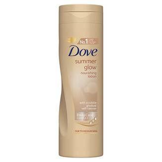Dove Summer Glow Nourishing Lotion for Fair to Medium Skin 250ml