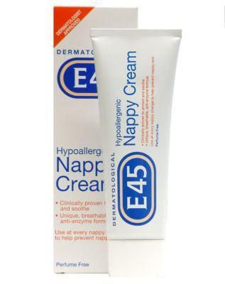 E45 Nappy Cream 125g