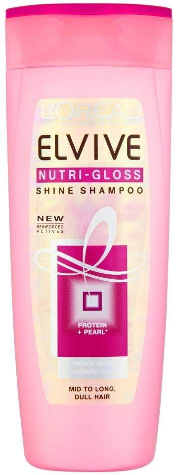 L'Oreal Elvive Nutri Gloss Shine Shampoo 400ml