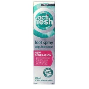 Peditech Actifresh Foot Odour Treatment 100ml