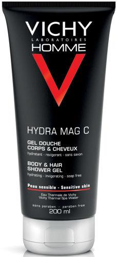 Vichy Homme Hydra Mag C Body and Hair Shower Gel