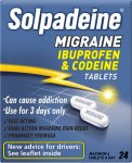 Solpadeine Migraine Tablets Pack of 24