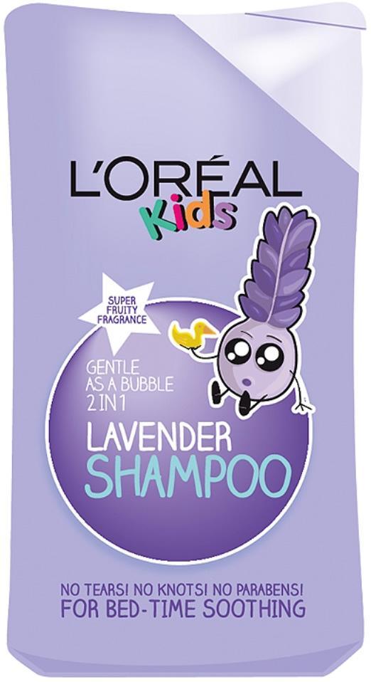 L'Oreal Kids Gentle 2 in 1 Lavender Shampoo 250ml
