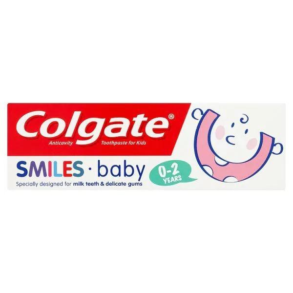 Colgate Smiles Baby Toothpaste 0-2 Years 50ml