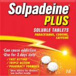 Solpadeine Plus Soluble Pack of 16