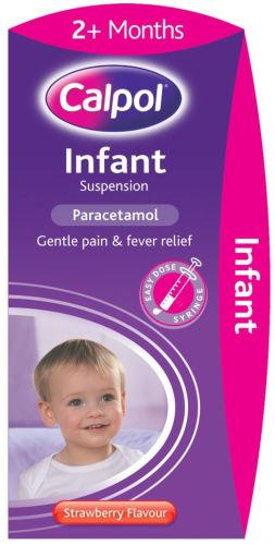 Calpol Infant Suspension Strawberry Flavour 200ml
