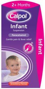 Calpol Infant Suspension Strawberry Flavour 200ml