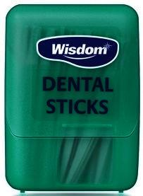 Wisdom Mint Fluoride Dental Sticks Pack of 100