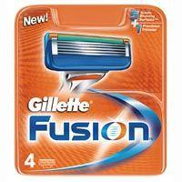 Gillette Fusion Razor Blades Pack of 4