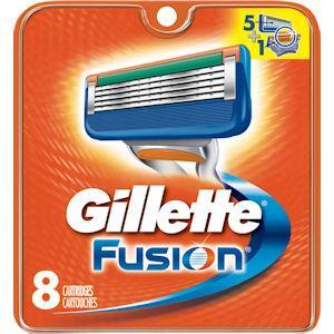 Gillette Fusion Razor Blades Pack of 8
