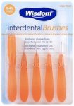 Wisdom Interdental Brushes 0.45mm Orange Pack of 5