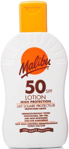 Malibu Sun Lotion SPF50 200ml