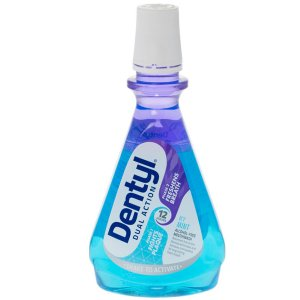 Dentyl Dual Action Icy Mint Mouthwash 500ml