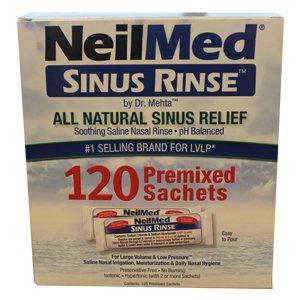NeilMed Sinus Rinse Refill Sachets Pack of 120