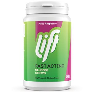 Lift Glucose Tablets Raspberry Pack of 50