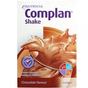 Complan Shakes Chocolate 57g Pack of 4