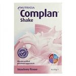 Complan Shakes Strawberry 57g Pack of 4