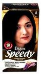 Bigen Womens Speedy Colour Natural Black 8