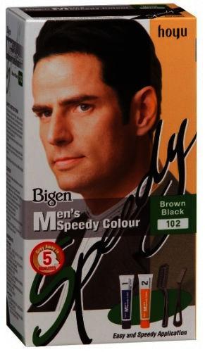 Bigen Mens Speedy Colour Brown Black 102