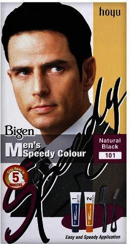 Bigen Mens Speedy Colour Natural Black 101