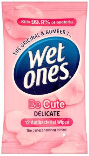 Wet Ones Be Cute Delicate Wipes Pack of 12