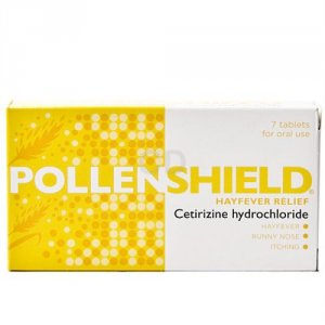 Pollenshield Hayfever Tablets Pack of 7